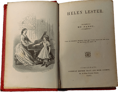 Helen Lester Title Page